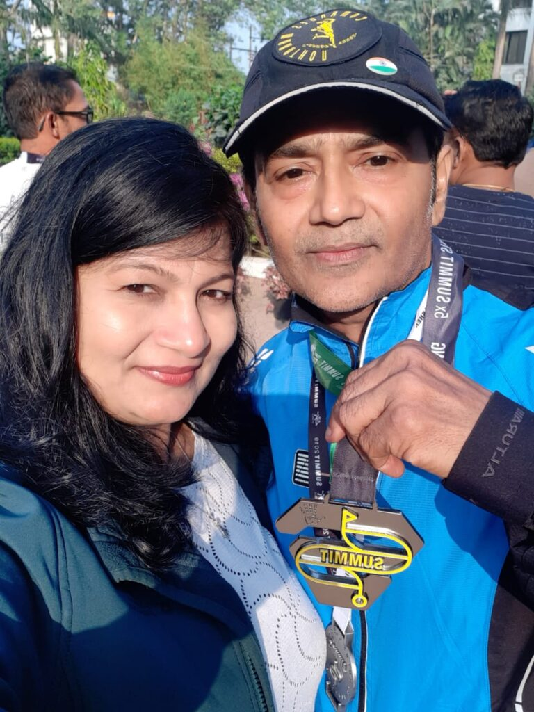 'Pride of Surat': Man Completes Summit 5.0 Saputara for the second year in the Row