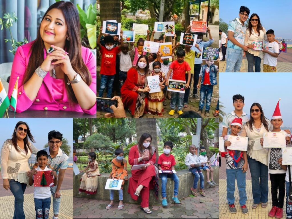 Seema Singh is on a mission to provide a better education to underprivileged children