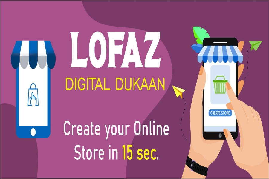 Small store owners creating a hassle free online store on Lofaz Digital Dukaan