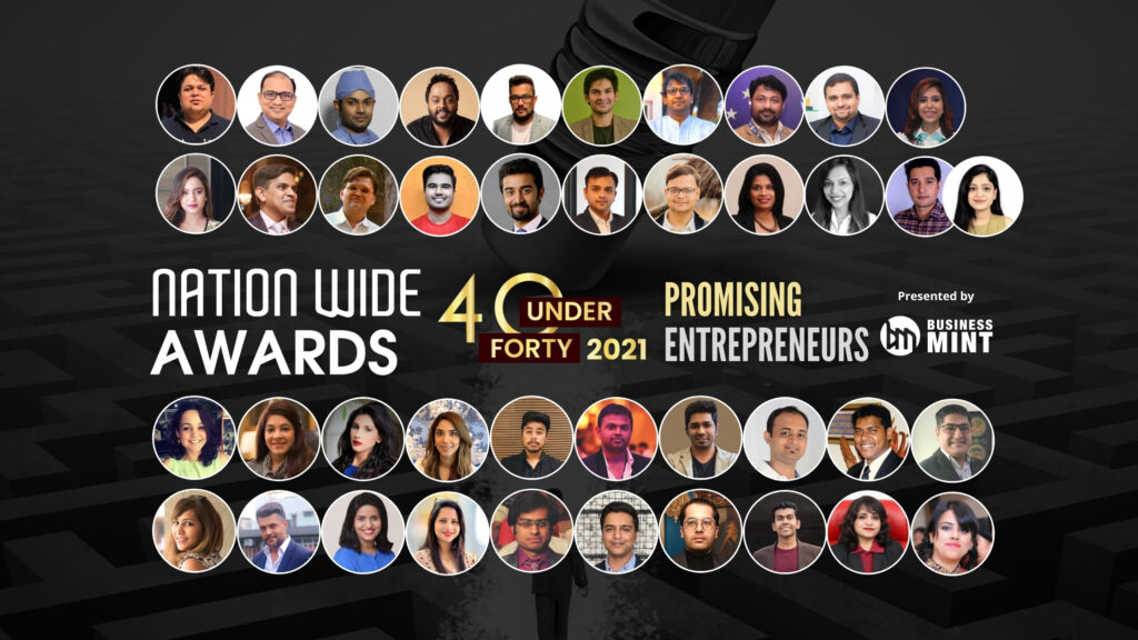 Business Mint Announce the Winners of the Nationwide Awards 40 Under 40 PROMISING Entrepreneurs– 2021