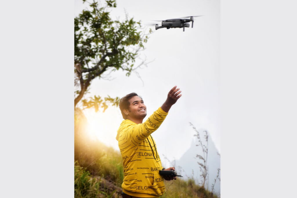 Aerial Holic – the Man Who Is Blessed with Bird's Eye View