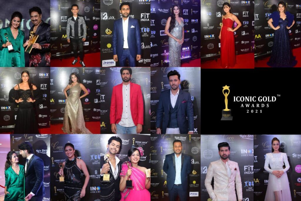 Celebrities Graced Iconic Gold Awards 2021, Which Took Place On Saturday In Mumbai