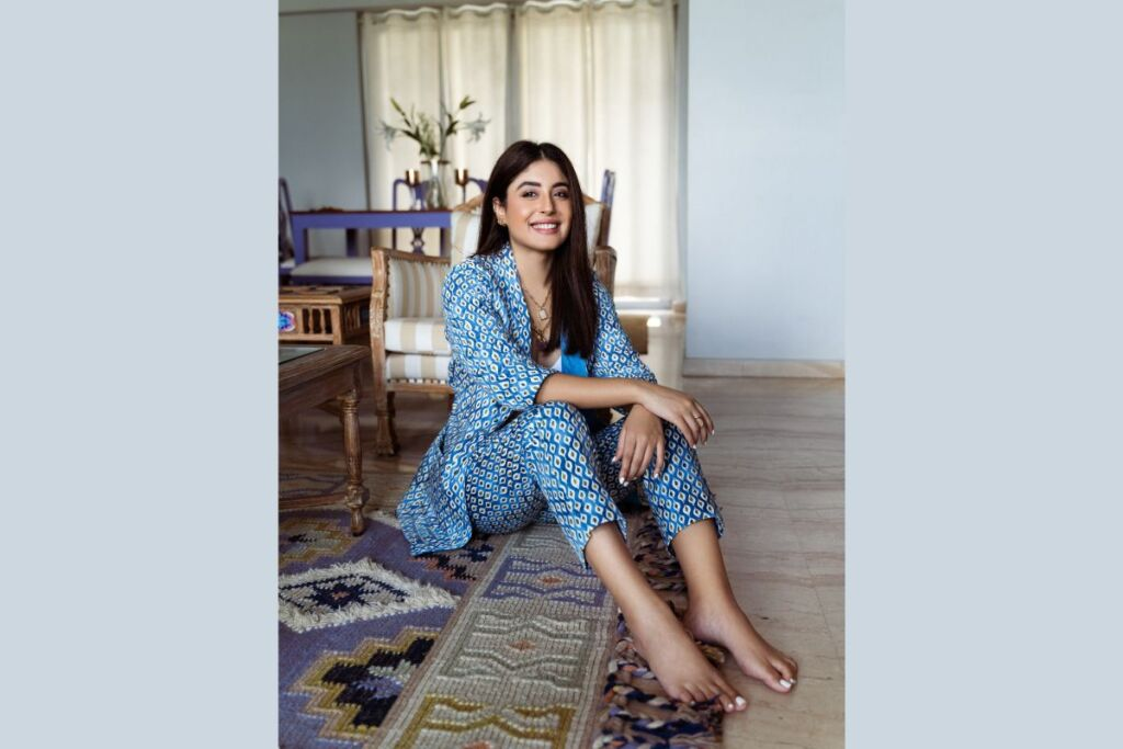Kritika Kamra Stuns in This Chic Pantsuit from the Fusion Collection by Marks & Spencer