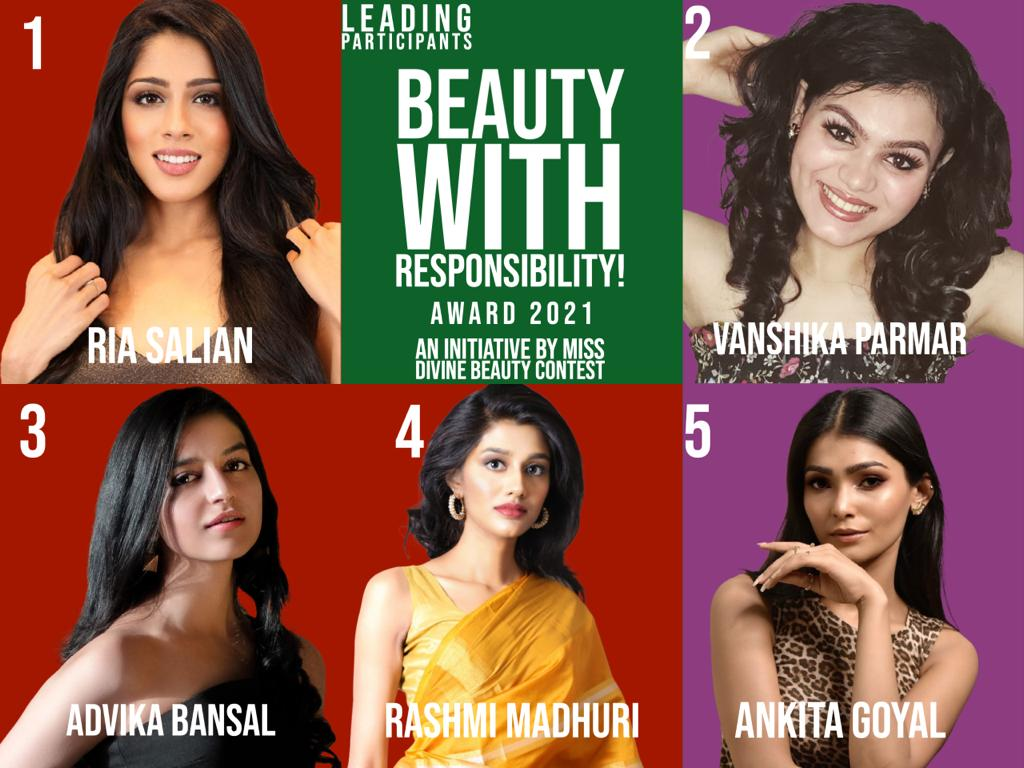 Miss Divine Beauty 2021: Introduces Beauty with a Responsibility Award