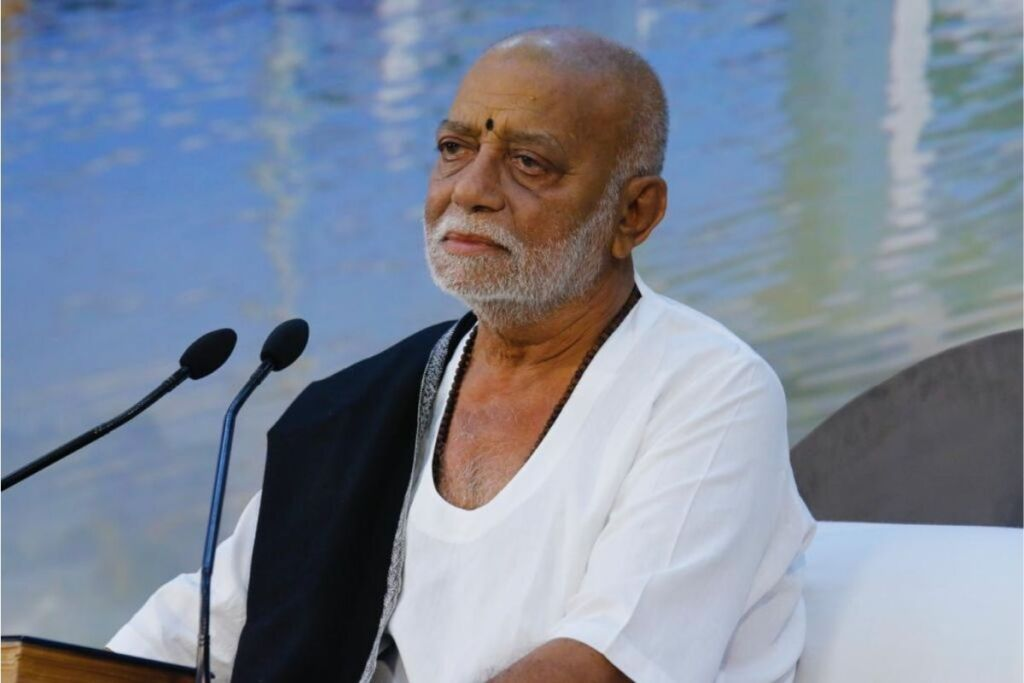 Pujya Morari Bapu Announces Assistance of Rs. 6 Lakh to Flood Victims in Uttarakhand, Himachal Pradesh and Nepal